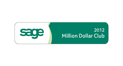 Sage Million Dollar Club 2012 logo