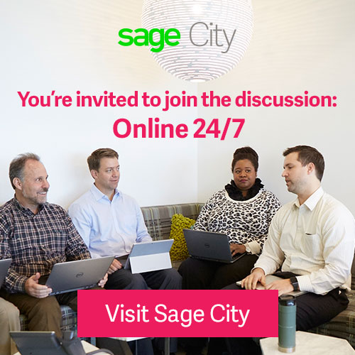 Sage City: You're invited to join the discussion 24-7