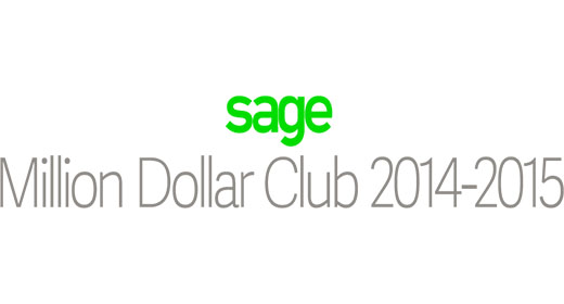Sage Million Dollar Club 2014-2015 logo