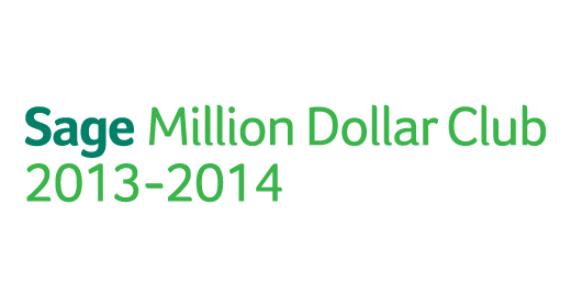 Sage Million Dollar Club 2013-2014 logo